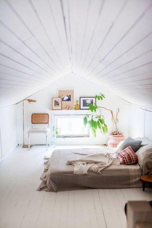 camera da letto mansarda 31