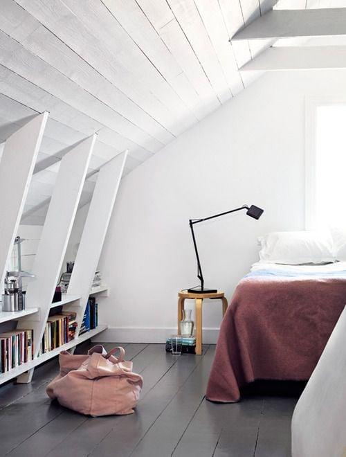 camera da letto mansarda 76