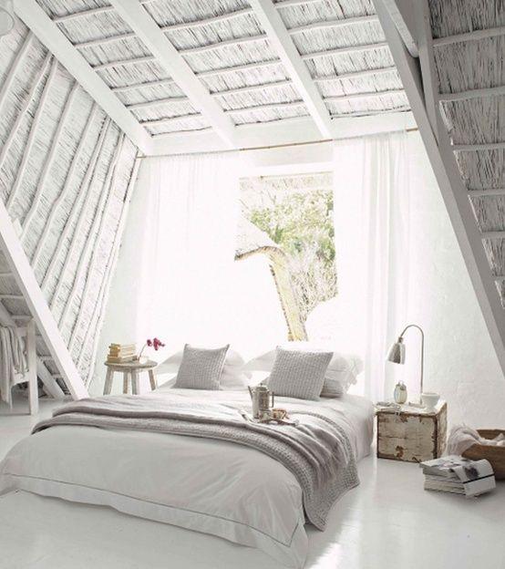 Galleria foto - Come arredare la camera da letto in mansarda Foto 80 ...