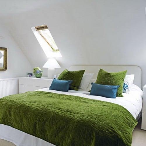 camera da letto mansardata 10