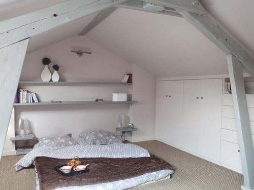 camera da letto mansardata 11