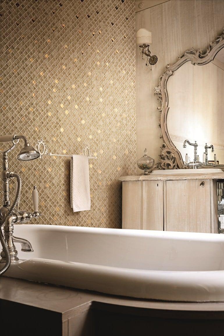 Mosaico bagno - Arredo bagno mosaico ...