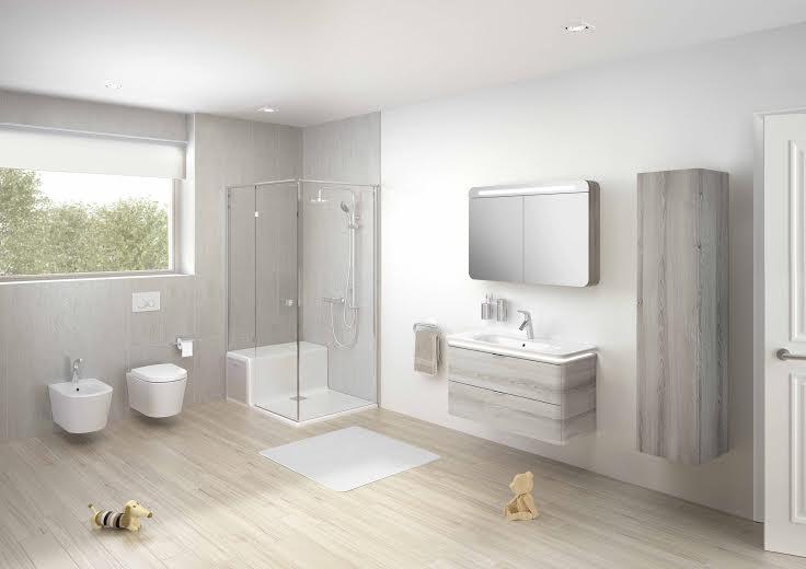 design scandinavo per la collezione bagno nest di vitra
