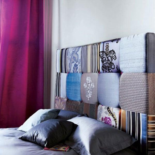 testata letto cuscini