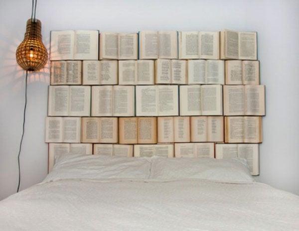 testiera letto libri