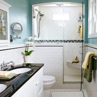 Galleria foto come progettare un bagno lungo e stretto - Progettare un bagno piccolo ...