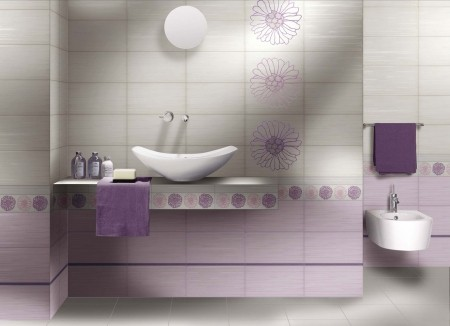 Piastrelle Da Bagno Colorate : Galleria foto piastrelle colorate per bagni moderni foto
