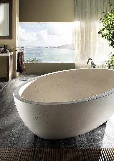 Collezione bagno in marmo Margraf design moderno