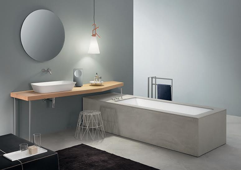 Vasche wave ecocemento di makro - Produzione vasche da bagno ...