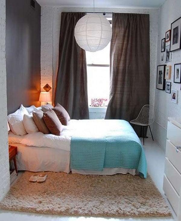Galleria foto - Come arredare una piccola camera da letto Foto 12