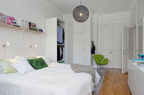 Galleria foto - Come arredare una piccola camera da letto Foto 28