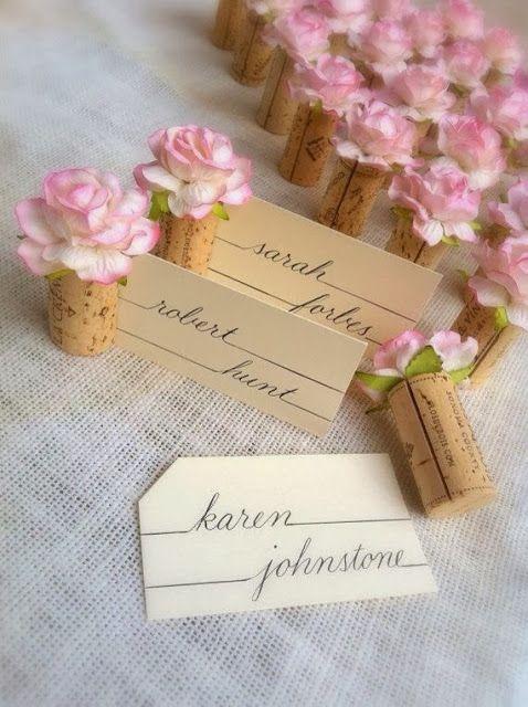 Segnaposto Matrimonio Romantico.Segnaposto Matrimonio Idee Originali