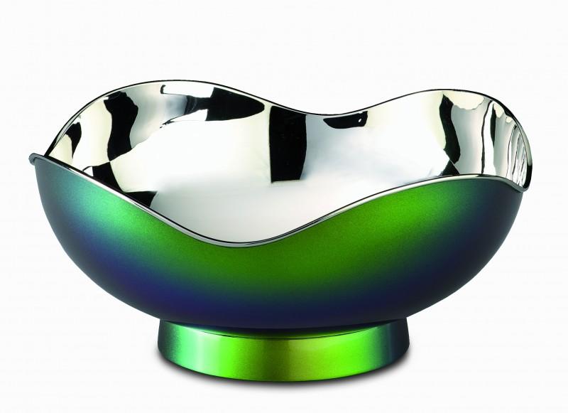 Bicchieri e centrotavola in argento design moderno e for Centrotavola design moderno