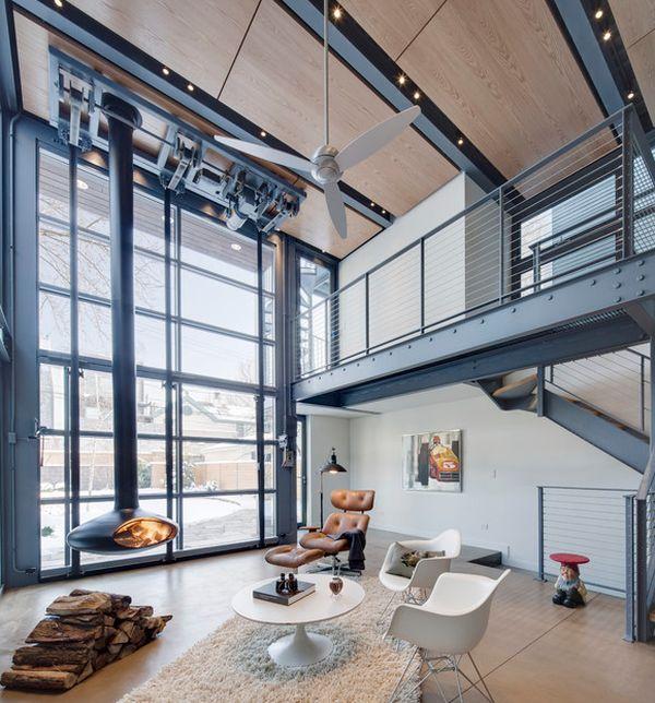 Loft moderno for Arredamento moderno economico