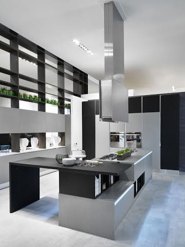Cucina bijou di aran tra design e tecnologia for Aziende cucine design