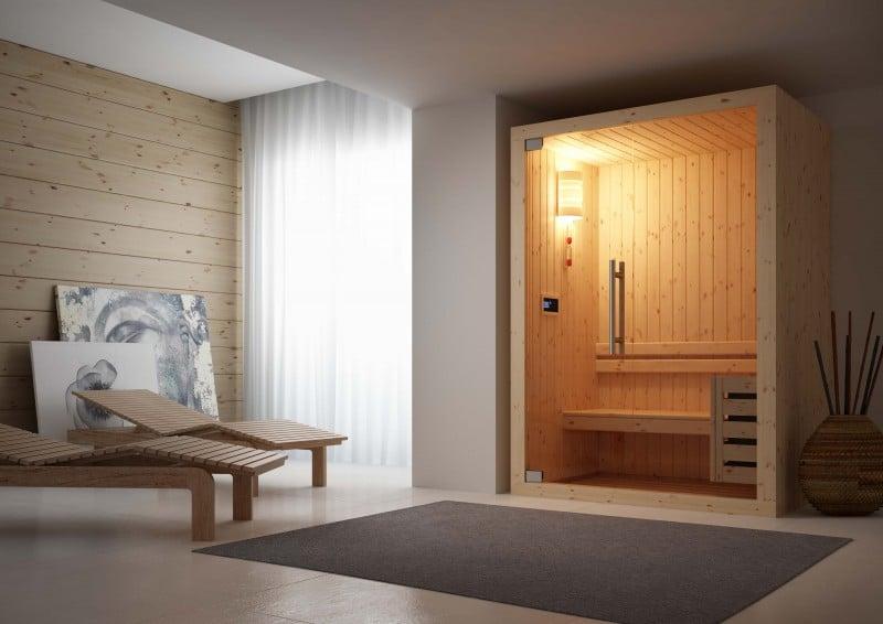 Sauna di piccole dimensioni - Costo sauna per casa ...