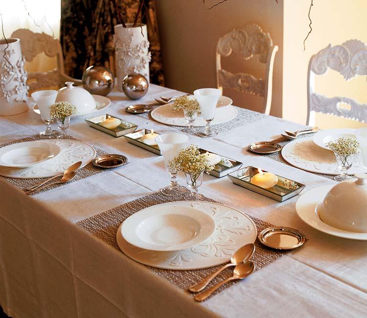 Galleria foto - Come decorare la tavola di natale Foto 16