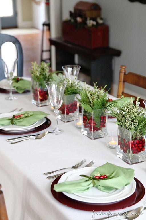 Galleria foto - Come decorare la tavola di natale Foto 29