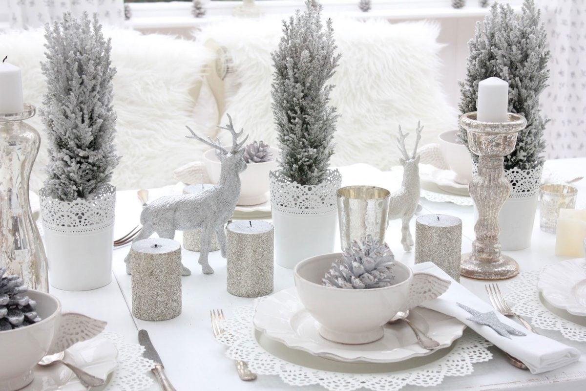 Arredare Tavola Natale tavola di natale 2019 idee