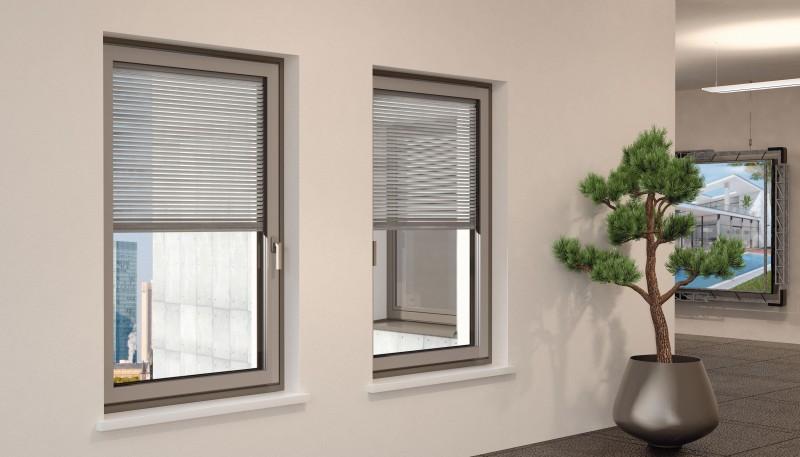 Finstral infissi di qualit e design for Sunbell veneziane interno vetro