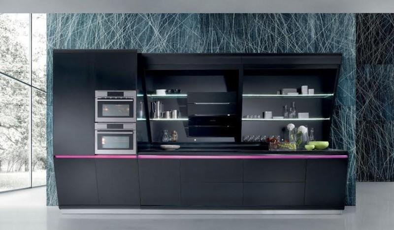 Cucina design minimal kook di rastelli for Aziende cucine design