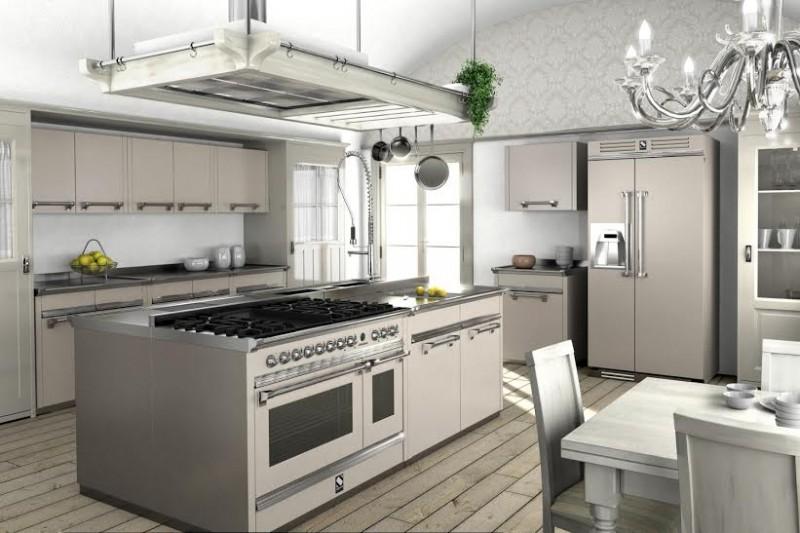 Cucina ascot di steel nuove tinte pastello - Aziende cucine design ...