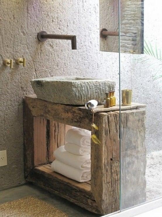 bagno-rustico-lavabo