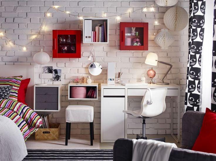 Arredamento Svedese Vintage : Casa arredata con mobili ikea