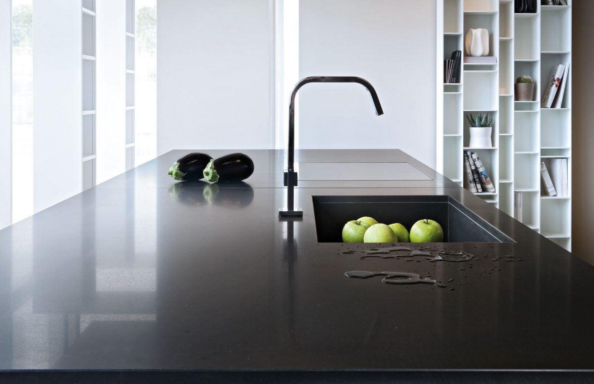 Marmo sintetico - Top cucina in cemento ...