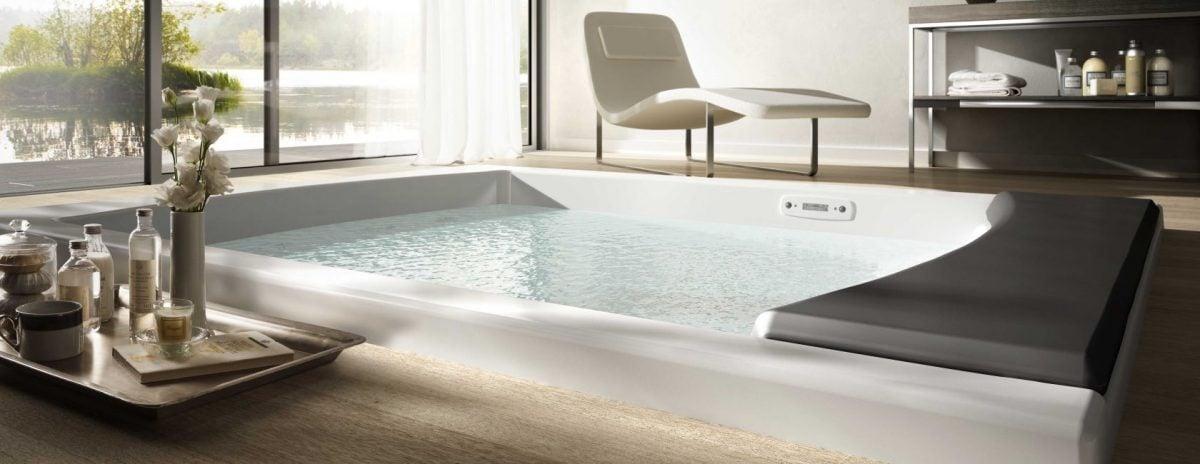 Vasca da bagno per due e oversize for Grandi planimetrie