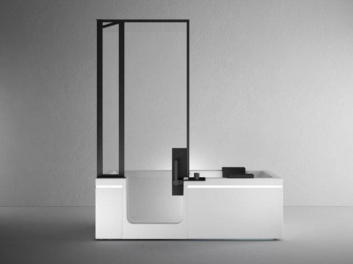 Vasche Da Bagno Di Dimensioni Ridotte : Galleria foto vasche da bagno moderne e di piccole dimensioni foto