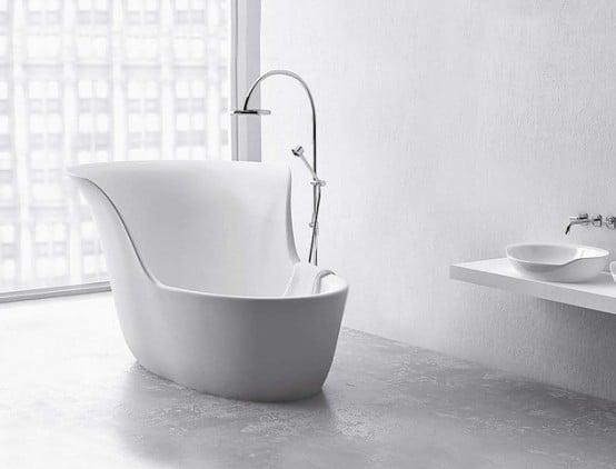Galleria foto - Vasche da bagno moderne e di piccole dimensioni Foto 27
