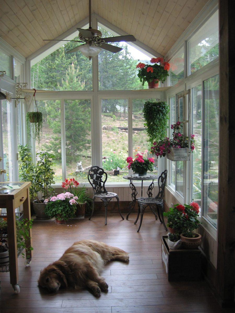 La Veranda Di Campagna come arredare una veranda