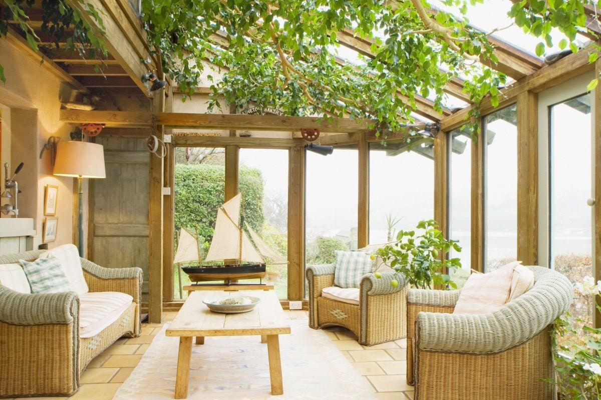 Credenza Per Veranda : Come arredare una veranda