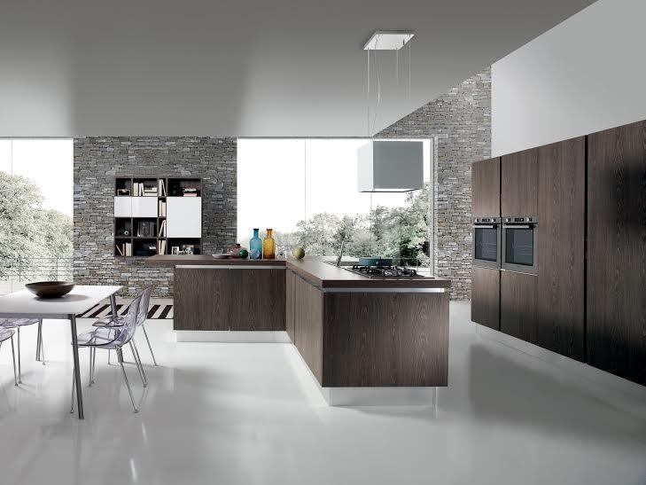 Cucina bella nuovo modello aran cucine for Aziende cucine design