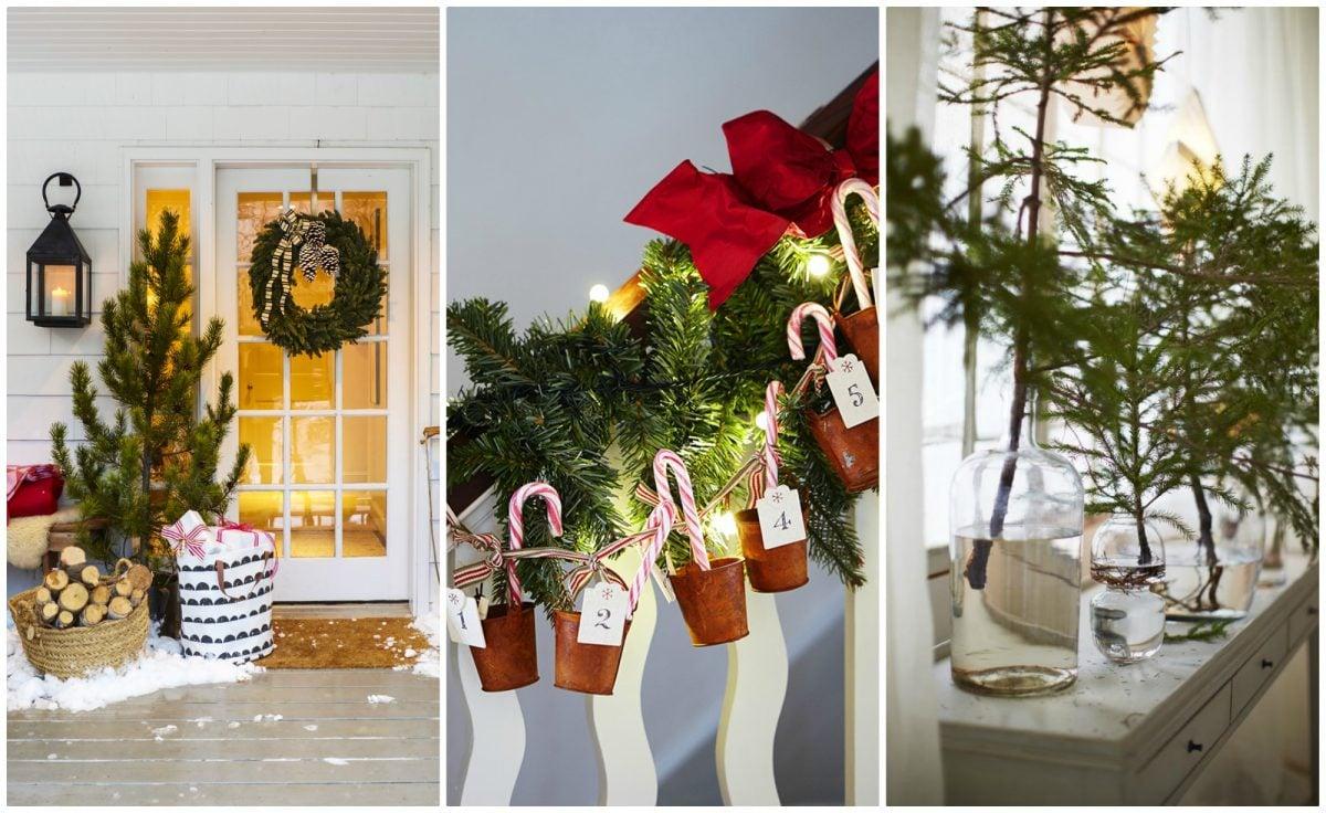 Decorazioni natalizie fai da te for Festoni natalizi fai da te
