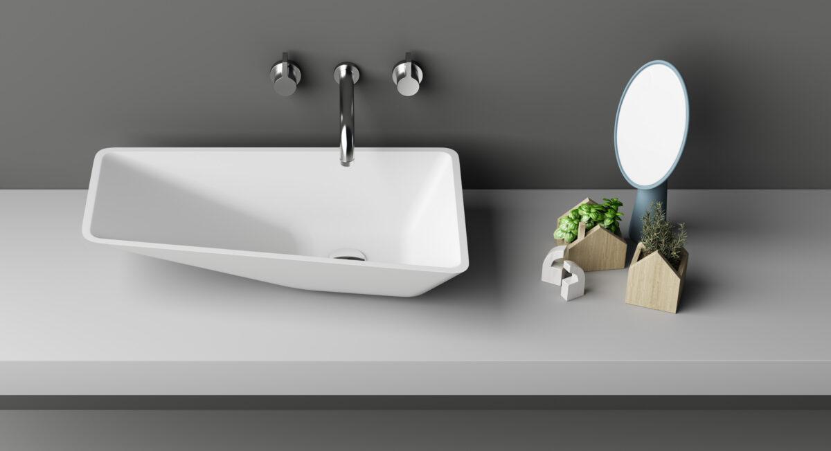Lux il lavabo che sembra un antico lavatoio - Lavabo bagno leroy merlin ...