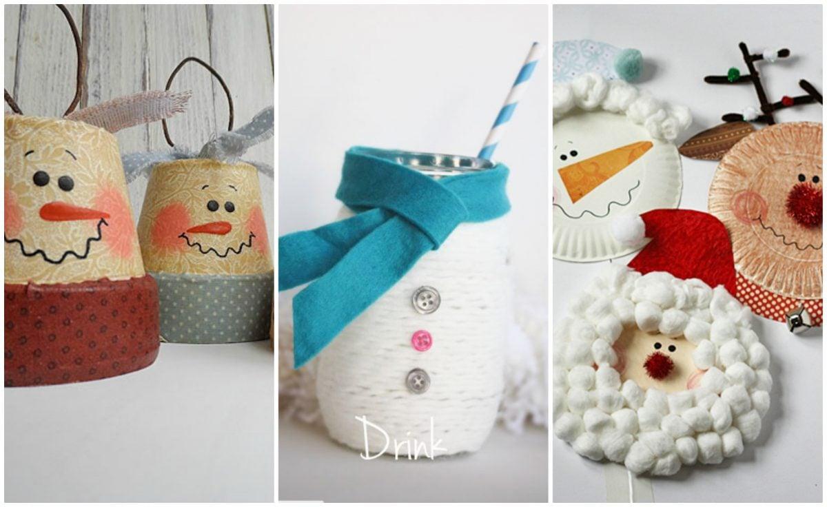 Lavoretti di natale - Decorazioni natalizie fatte a mano per bambini ...