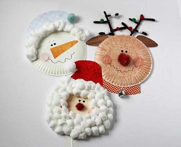 piatti-cartone-natalizi-lavoretti