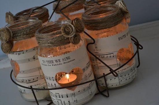 Lanterne natalizie fai da te