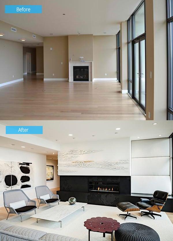 Ristrutturazione prima e dopo for Esempi di ristrutturazione appartamento