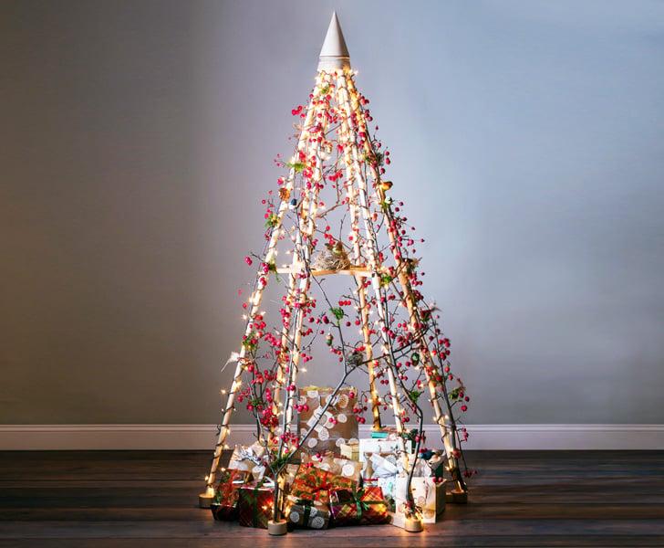 Alberi Di Natale In Legno Da Parete : Albero di natale design moderno