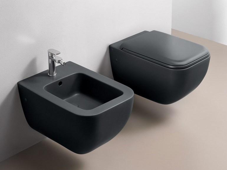 Mobili bagno sospesi - Sanitari bagno sospesi neri ...