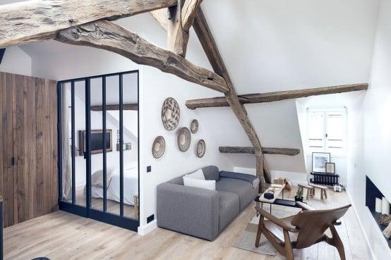 Arredare un piccolo appartamento a Parigi