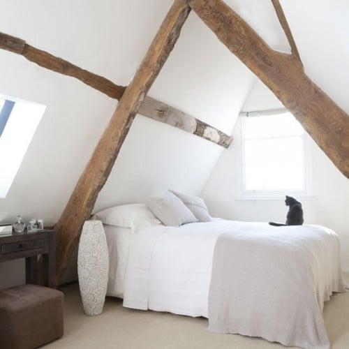 Camere da letto con travi a vista for Camere da letto design 2016