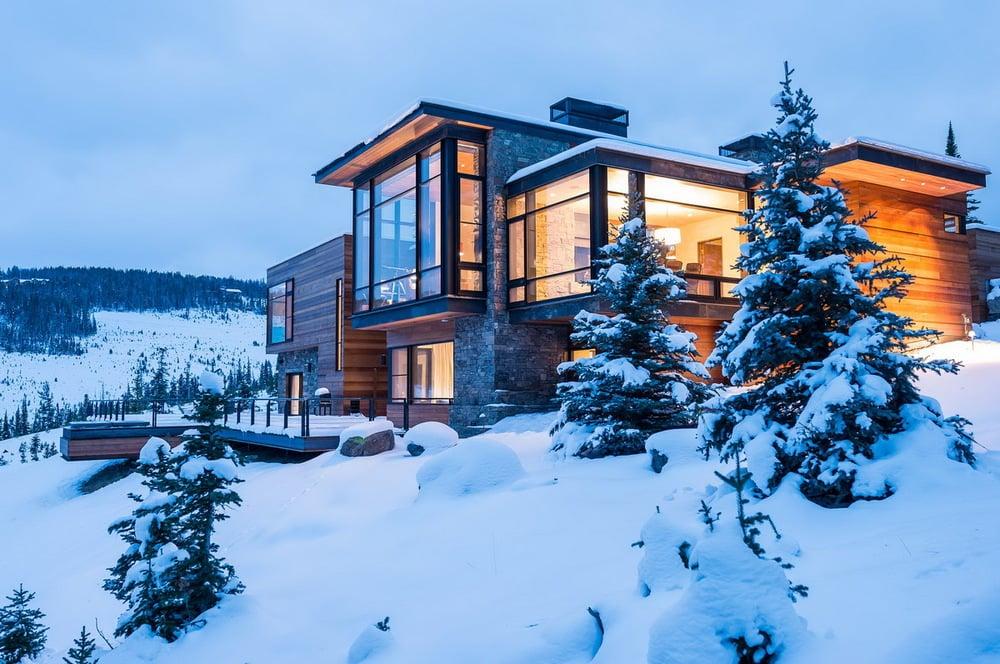 Case Di Montagna A Natale : Case di montagna