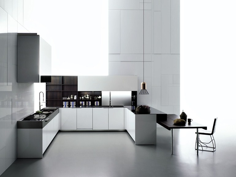 Cucine con penisola - Cucina moderna con penisola ...