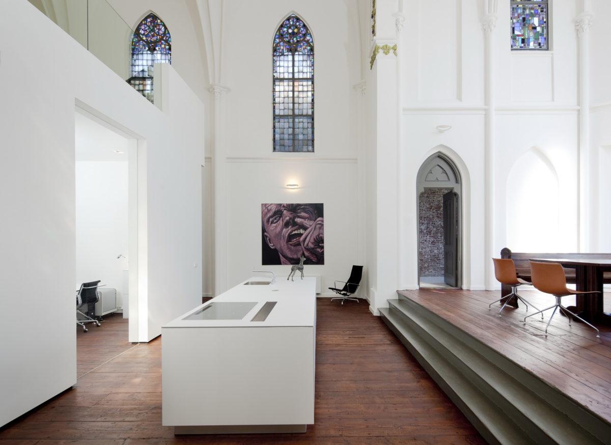 cucina-open-space-casa-chiesa