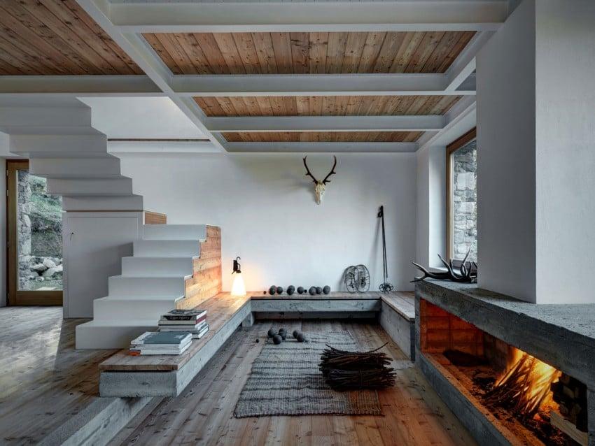 Casa di montagna interni design for Casa di design