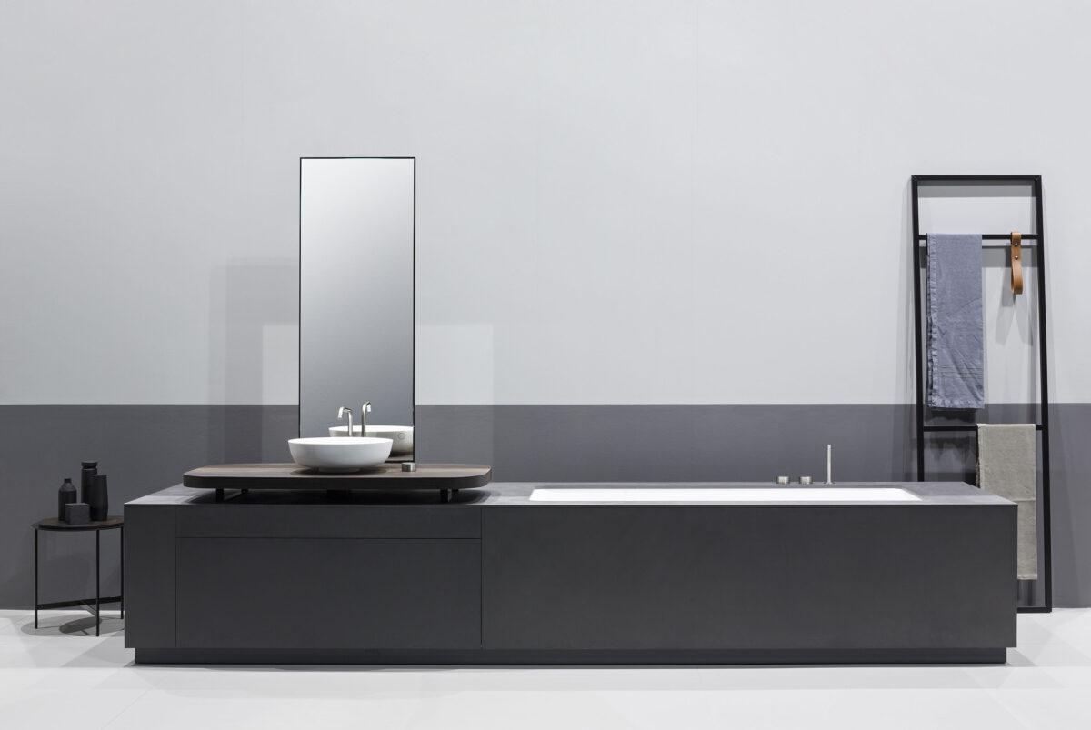 Vasca e lavabo integrati for Aziende bagni design